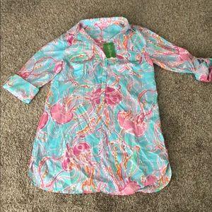 NWT Lilly Pulitzer captiva tunic